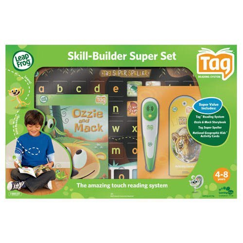Childhood Learning Tools LeapFrog Tag Reading System:Skill-Builder-Super-Set NIB
