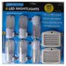 Feit 8 Pack Led Nightlights, last 15 times longer, use 90% less energy last for years - night eye