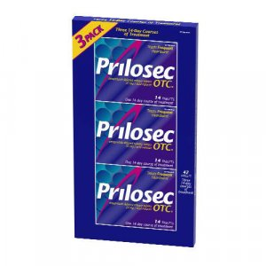 Prilosec OTC 24-hour heartburn relief delayed release tablet three 14 day treatments