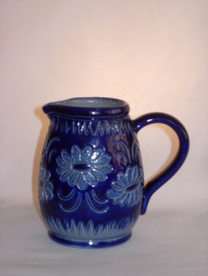 Blue jug