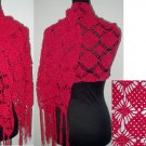 crochet shawl,free shipping
