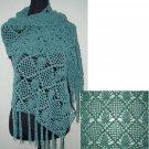 hand crochet shawl,free shipping