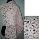 hand crochet flower shawl,free shipping