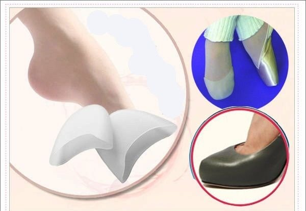 Toe Pain Protector Protection Pouch High Heels Ballet Dancing Shoes
