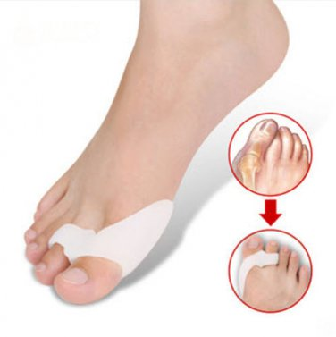 Gel Toe Spreader Bunion Protectors Guard Side of Foot Pain Corns Hallux
