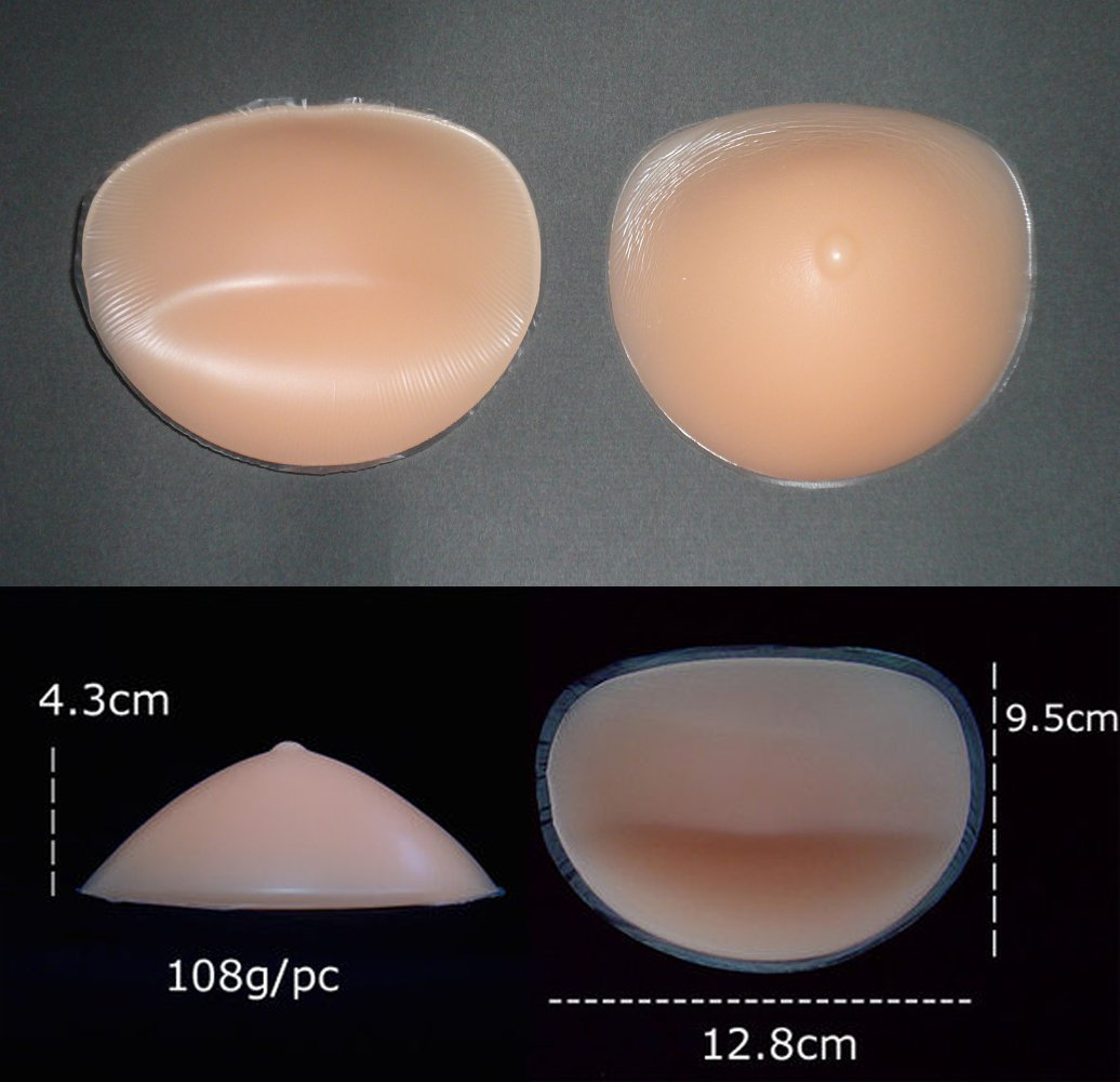 209a4d154 Silicone Chicken Fillets Breast Forms Cleavage Enhancers Bra Inserts Pads  Push Up Boost Cup Size