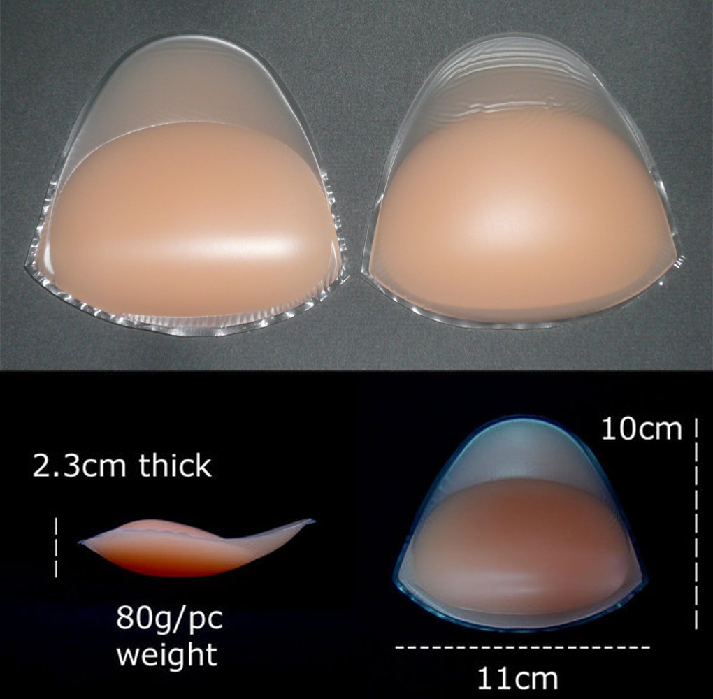 Chicken Fillets Breast Enhancers Silicone Bra Inserts Pads Enhancements Push Up Swimwear