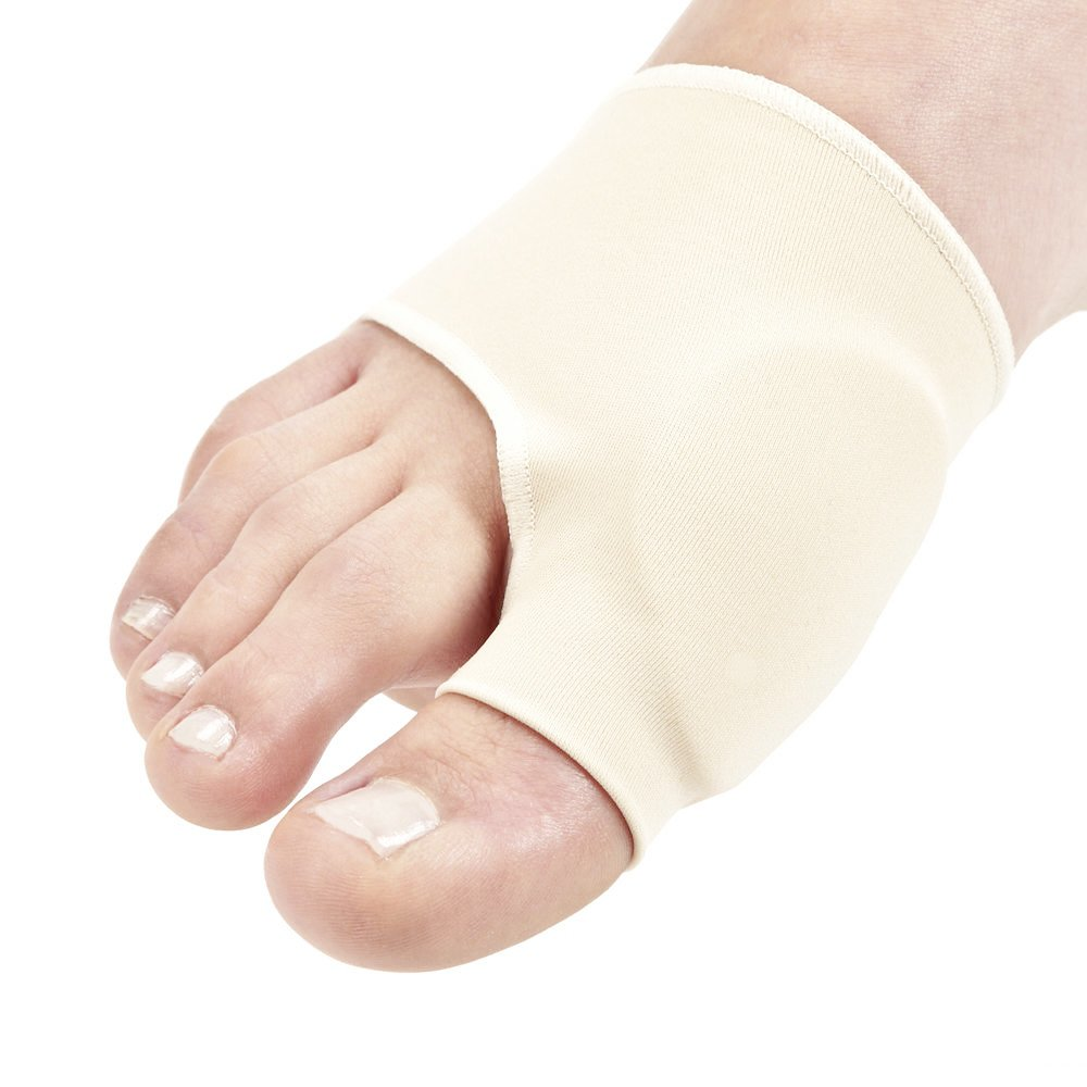 Men's Bunion Gel Cushion Sleeve Hallux Valgus Pain Foot Pain Side of Foot Toe