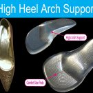 High Heels Insoles Pain in Foot Wedge Arch Pads Support Inserts Flat Feet US 5.5-7.5