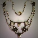 Festoon Style Pearl Necklace by J. Wass Designer Jewelry