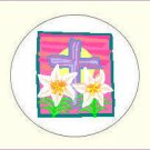 Round Easter Envelope Seals - Choose Your Graphic & Size