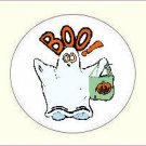 Round Halloween Envelope Seals - Choose Your Graphic & Size