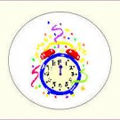 Round New Year Envelope Seals - Choose Your Graphic & Size