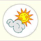 Round Weather Envelope Seals - Choose Your Graphic & Size