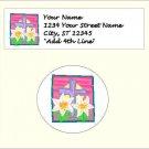 "60 Easter Address Labels & 63 - 1"" Envelope Seals - Choose Your Graphic"