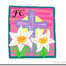 Easter Note Cards with YOUR Initials - Choose Your Graphic
