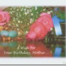 #M4U0546 Happy Birthday Greeting Card for Mother Mom