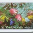 #M4U0577 Happy Birthday Greeting Card for Sister