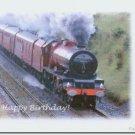 #M4U0540 Happy Birthday Greeting Card
