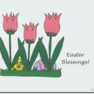 #M4U0500 Happy Easter Greeting Card