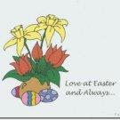#M4U0506 Happy Easter Greeting Card