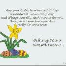 #M4U0514 Happy Easter Greeting Card