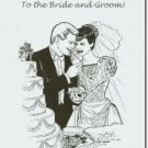 #M4U0199 Congrats Congruatulations to the Bride & Groom Wedding