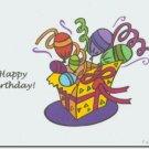 #M4U0215 Happy Birthday Greeting Card to a Child