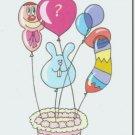 #M4U0221 Happy Birthday Greeting Card to a Child