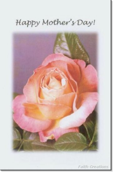 #M4U0111 Happy Mother's Day Greeting Card