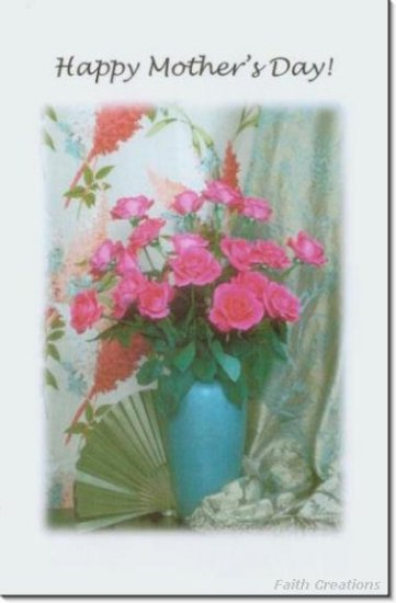 #M4U0113 Happy Mother's Day Greeting Card
