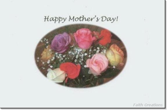#M4U0115 Happy Mother's Day Greeting Card