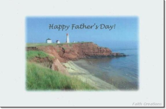 #MU0174 Happy Father's Day Greeting Card