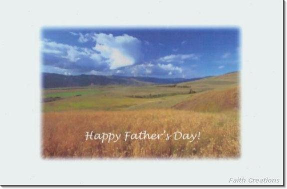 #MU0176 Happy Father's Day Greeting Card