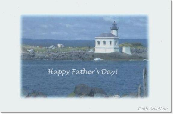 #MU0177 Happy Father's Day Greeting Card