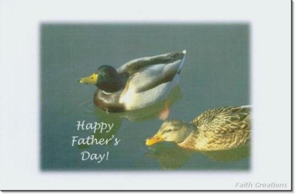 #MU0178 Happy Father's Day Greeting Card