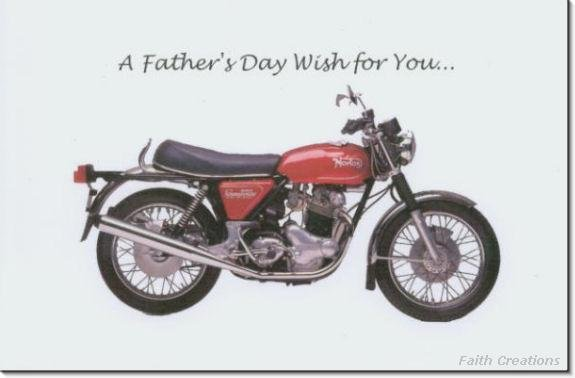 #MU0528 Happy Father's Day Greeting Card