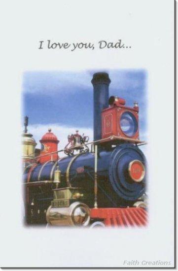 #MU0530 Happy Father's Day Greeting Card