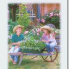 #M4U0396 Laughter Smiles Across the Miles Greeting Card