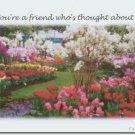 #M4U0273 Flower Garden Friendship Greeting Card