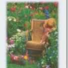 #M4U0182 Flower Garden Get Well Greeting Card