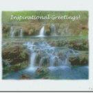 #M4U0479 Waterfalls Inspirational Greeting Card