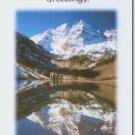 #M4U0484 Scenic Mountain View Inspirational Greeting Card