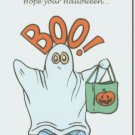 #M4U0365 Happy Halloween Greeting Card