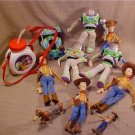 HUGH LOT OF DISNEY TOY STORY 1 TOYS