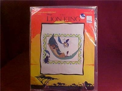 DISNEY LION KING COUNTED CROSS STITCH KIT NIP