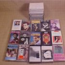 LOT OF 22 AUDIO CASSETTE TAPES NAT KING COLE & MORE