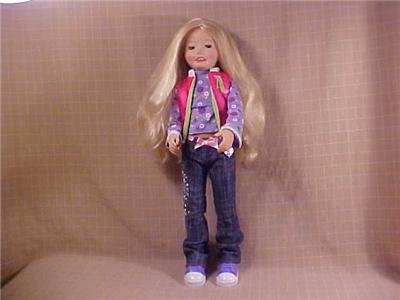 "Amazing Allysen Playmate Interactive Doll 18"" TALL (SOLD)"