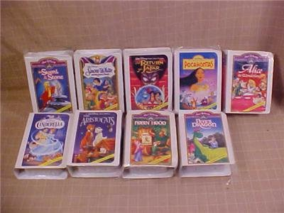 LOT OF 9 DISNEY McDONALD'S VIDEO KEEPSAKE TOYS
