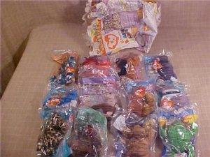 MIP lot of ty teenie beanie babies happy meal toys